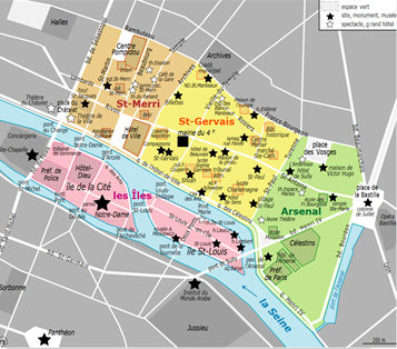 Plan Paris 4